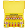 Master Lock Safety Series™ Lockout Stations MST 470-1483B