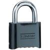 Master Lock No. 178 Solid Brass Combination Padlocks MST 470-178BLK