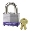 Master Lock No. 1 Laminated Steel Pin Tumbler Padlocks MST 470-1LFKD