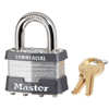 Master Lock No. 1 Laminated Steel Pin Tumbler Padlocks MST 470-1DCOM