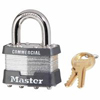 Master Lock Laminated Padlocks Keyed Alike Key Code 2001 MLK 470-1KA-2001