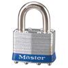 Master Lock No. 1 Laminated Steel Pin Tumbler Padlocks MST 470-1UP