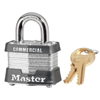 Master Lock No. 3 Laminated Steel Pin Tumbler Padlocks MST 470-3DLH