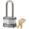 Master Lock No. 3 Laminated Steel Pin Tumbler Padlocks MST 470-3DLHCOM