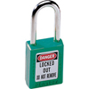 Master Lock No. 410 & 411 Lightweight Xenoy Safety Lockout Padlocks MST 470-410GRN