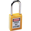 Master Lock No. 410 & 411 Lightweight Xenoy Safety Lockout Padlocks MST 470-410YLW