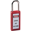 Master Lock No. 410 & 411 Lightweight Xenoy Safety Lockout Padlocks MST 470-411RED