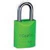 Master Lock Pro Series® High Visibility Aluminum Padlocks MST 470-6835GRN