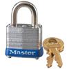 Master Lock No. 7 Laminated Steel Pin Tumbler Padlocks MST 470-7LJKD