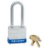 Master Lock No. 7 Laminated Steel Pin Tumbler Padlocks, 3/16 Dia, 1 1/2 L, Keyed Diff MLK 470-7LFKD