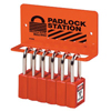 Master Lock Safety Series™ Heavy Duty Padlock Racks MLK 470-S1506