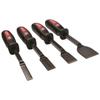 Mayhew Tools Dominator 4 Piece Hd Carbon Scraper Sets, 1/2X10;3/4X10;1X10;1 1/2X10 MYH 479-60001