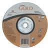 Carborundum Depressed Center Wheel, 7 In Dia, 1/4 In Thick, 24 Grit Alum. Oxide ORS 481-05539502854