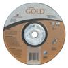 Carborundum Depressed Center Wheel, 9 In Dia, 1/4 In Thick, 5/8 Arbor, 24 Grit Alum. Oxide ORS 481-05539502858