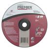 Carborundum Depressed Center Wheel, 4 1/2 In Dia, 1/4 In Thick, Hardness Grade Q, 24 Grit ORS 481-05539502872