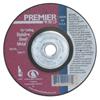 Carborundum Premier Red Zirconia Alumina, 9 In Dia, 1/4 In Thick, 24 Grit Zirconia Alumina ORS 481-05539502889