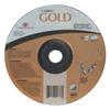 Carborundum Depressed Center Wheel, 4 1/2 In Dia, 1/8 In Thick, 24 Grit Aluminum Oxide ORS 481-05539504710