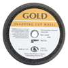 Carborundum Flaring Cup Wheel, 6 In Dia, 2 In Thick, Hardness Grade P, 16 Grit Alumina Oxide ORS 481-05539509160
