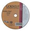 Carborundum Cut-Off Wheel, 4 In Dia, 1/8 In Thick, 3/8 In Arbor, 36 Grit Alumina Oxide ORS 481-05539509252
