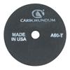 Carborundum Cut-Off Wheel, 3 In Dia, 1/8 In Thick, 3/8 In Arbor, 36 Grit Aluminum Oxide ORS 481-05539509260