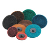 Carborundum Carbo Surface Prep Non-Woven Quick-Change Disc, Type III, 2, Coarse ORS 481-05539554463