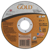 Carborundum Carbo™ Goldcut Reinforced Aluminum Oxide Abrasives, Type 1, 4 1/2 X .045 X 7/8, 60 Grt ORS 481-05539563952