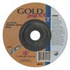 Carborundum Depressed Center Wheel, 4 1/2 In Dia, 1/4 In Thick, 7/8 In Arbor, 24 Grit ORS 481-05539570191