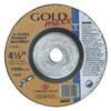 Carborundum Depressed Center Wheel, 4 1/2 In Dia, 1/4 In Thick, 5/8 In Arbor, 24 Grit ORS 481-05539570192