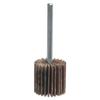 Merit Abrasives Mini Flap Wheels With Mounted Steel Shanks, 1 In X 5/8 In, 60 Grit, 30,000 RPM MER 481-08834137100