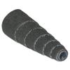 Merit Abrasives Aluminum Oxide Spiral Rolls Full Tapers, 1/2 X 1 1/2 X 1/8, 60 Grit MER 481-08834181744