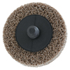 Merit Abrasives Deburring /Finishing Button Mount Wheel Type Lll 2A, 2X1/4, Med, Aluminum Oxide MER 481-66261054183