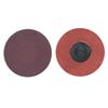 Merit Abrasives Quick Change Discs, Aluminum Oxide, 1 1/2 Dia., 40 Grit MER 481-69957399695