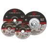 Carborundum Depressed Center Wheel, 4 1/2 In Dia, 1/8 In Thick, 7/8 In Arbor, Aluminum Oxide ORS 481-05539561565