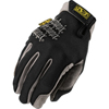 safety zone leather gloves: Mechanix Wear - Utility Gloves, Medium, Black