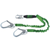 Fall Protection Fall Protection Parts Accessories: Honeywell - Stretchstop Lanyards With Sofstop Shock Absorber,6Ft, Locking Rebar Hooks,2 Legs