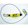 Honeywell Wire Rope Lanyards with SofStop® Shock Absorber MLS493-907LS6FTYL