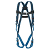 Honeywell Duraflex Ultra Harnesses, Back D-Ring, Quick Connect, Universal, Blue FND 493-E650DQC/UBL