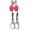 Fall Protection Fall Protection Parts Accessories: Honeywell - Twin Turbo With G2 Connector, 400 Lb Capacity, G2 Connector, 2 Legs
