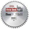 M.K. Morse Metal Devil&Trade; Nxt Circular Saw Blades, 8 In, 20 mm Arbor, 5,800 RPM, 48 Teeth MKM 497-CSM848NSC