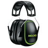 Moldex MX Series Earmuffs, 30 Db, Black/Green, Headband MLD 507-6130