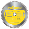 Evolution TCT Metal-Cutting Blades, 14 In, 1 In Arbor, 1,600 RPM, 90 Teeth EVO 510-14BLADE-SSN