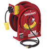 Reelcraft Heavy Duty Power Cord Reels, 12/3 Awg, 15 A, 45 Ft, Single Receptacle RLC 523-L45451233