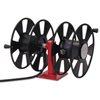 Reelcraft 250 Amp Arc Weld, Dual Weld, Side-By-Side W/Out Cable Hose Reel,24Ft,150Ft Cable RLC 523-T24620