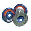 Norton Type 27 Twinstar Flap Discs, 4 1/2 In, 40 Grit, 7/8 In Arbor, 13,000 RPM NRT 547-63642504877