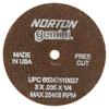 Norton Type 01 Gemini Reinforced Cut-Off Wheels NRT 547-66243510627