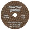 Norton Type 01 Gemini Reinforced Cut-Off Wheels NRT 547-66243510628
