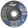 Norton Depressed Center Wheel, 4.5 In Dia, 4 1/2 In Thick, 24 Grit Alum. Oxide NRT 547-66252842026