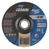 Norton Gemini Depressed Center Wheel, 6 Dia, 1/16 Thick, 7/8 Arbor, 24 Grit NRT 547-66252842202