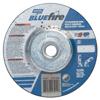 Norton Depressed Center Wheel, 4 1/2 In Dia, 1/8 In Thick, 5/8 Arbor, Zirconia Blend NRT 547-66252843211