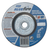 Norton Bluefire Depressed Center Wheels, 4 1/2 Dia, 5/8 Arbor, 1/4 Thick, 24 Grit NRT 547-66252843213